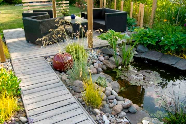 tendencias 2018 en decoracin de jardines y terrazas - Decoracion De Jardines