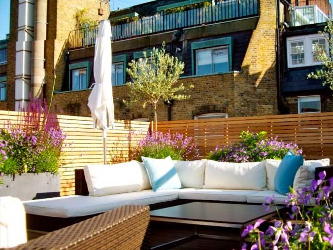 Uso De Plantas Para Decoración De Terrazas Y Balcones